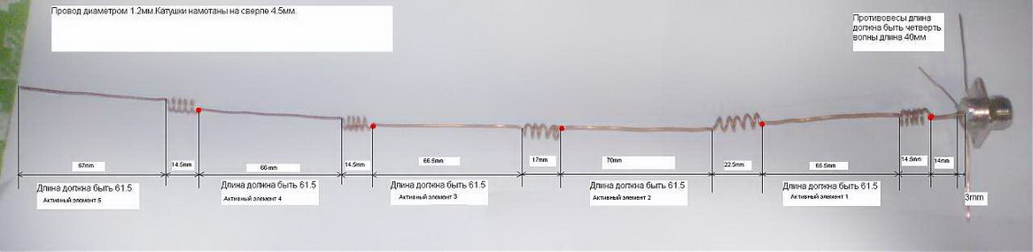 Коллинеарная антенна на 433 мгц своими руками